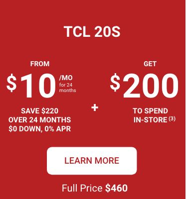 TCL 20S PDP